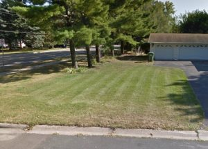 A pic before we worked as this st louis park sod supplier!