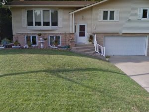 We did some hydroseeding in New Brighton at this home - Deer Creek Turf
