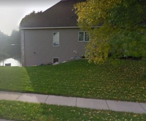 This home is where we did some sod installation in Eden Prairie