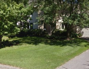 This is the home where we did some sod installation in orono - Deer Creek Turf