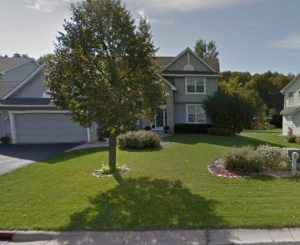 This home needed an expert sod supplier in Maple Grove, and Deer Creek Turf answered the call