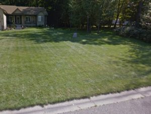 a ham lake sod company was needed at this home - Deer Creek Turf took the job